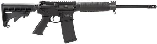 "Smith & Wesson M&P15 SA 300 AAC Blackout, 16"" Barrel, 6 Pos Stock, Black, 30rd"