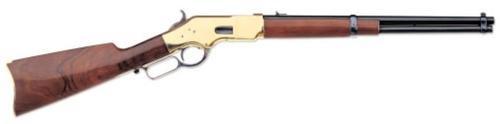 "Uberti 1866 Yellowboy Carbine, .44-40 Win, 19"" Barrel, Brass Frame, 10rd"