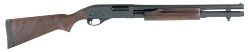 Remington 870 Express Hardwood Home Defense, 6 + 1 Capacity Sling Swivel Stud In Magazine Cap & Butt-Stock 12 Ga