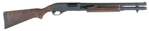 Remington 870 Express Hardwood Home Defense, 6 + 1 Capacity Sling Swivel Stud In Magazine Cap & Butt-Stock 12 Ga