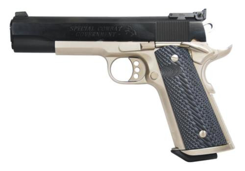 Colt Special Combat Government, 38 Super, 2 Tone Finish