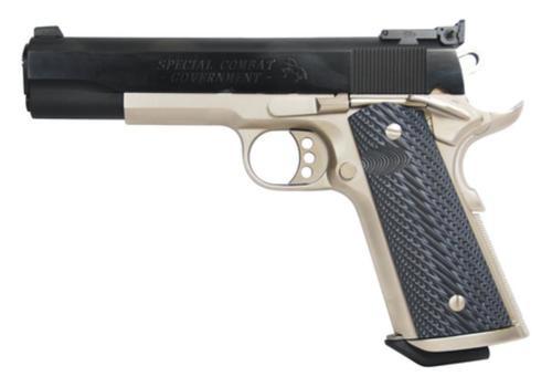Colt Special Combat Government, 38 Super, 2 Tone Finish