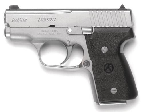 "Kahr Arms MK9 9mm 3"", /7+1 AS Black Nylon Textured Grip Matte SS,  6 rd"