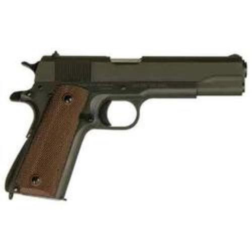 """Inland, 1911A1 Government Model, Single Action, 45 ACP, 5"""" Barrel, Steel Frame, Parkerized Finish, 7Rd, Fixed Sights"""