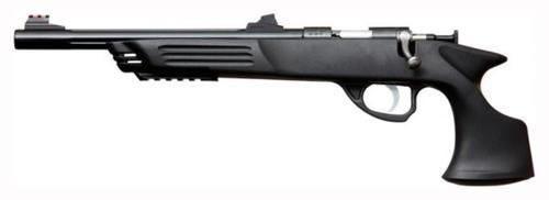 """Keystone Crickett Hunter 22LR Pistol Handgun Single Shot Bolt 10.5"""" 1rd Synthetic Blued"""