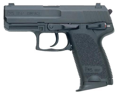 HK USP40 Compact (V7) LEM DAO, two 12rd magazines