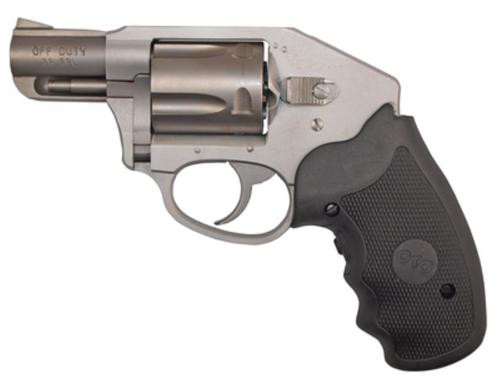 """Charter Arms Off Duty Compact 38 Special +P 2"""" Barrel Stainless Steel Finish Aluminum Frame Crimson Trace Lasergrips 5 Rnd"""