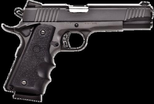 """Citadel M-1911 Full Size 45 ACP 5"""" Barrel Matte Black Hogue Synthetic Grip Black 8rd"""