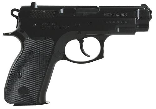 "TriStar C-100 9mm 3.9"" Blue,  Poly Grips Steel,  15 rd"