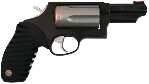 "Taurus Judge 410/45 Tracker Black/Matte 2 Tone, 3"" Barrel, 3"" Chamber"