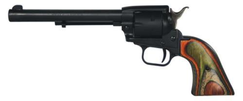 "Heritage Rough Rider, Single Action Revolver, 22LR/22WMR, 6.5"" Barrel, Alloy Frame Laminate Grips, 6 Rd"