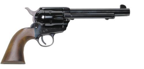 "Heritage Rough Rider, Single Action, 45 Long Colt, 5.5"" Barrel, Alloy Frame, Black, Cocobolo Grips, 6Rd"