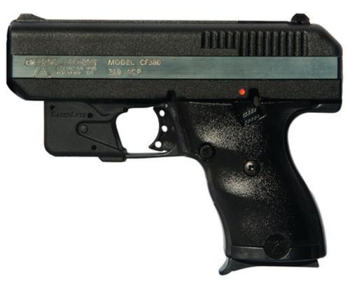 """Hi-Point .380 ACP 3.5"""" Barrel, Laserlyte Trigger-Guard Mount Laser Polymer Frame 8rd Mag"""