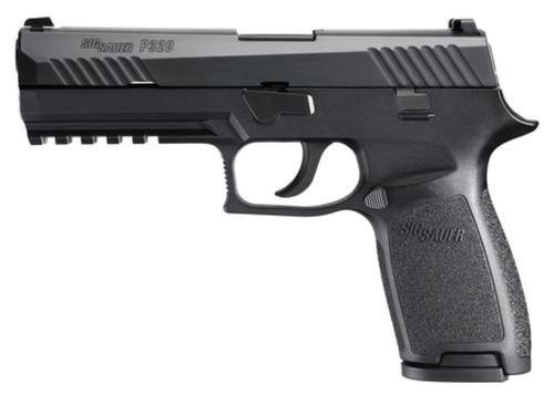 "Sig P320 Full Size 9mm 4.7"" Contrast Sights, 17rd Mag"