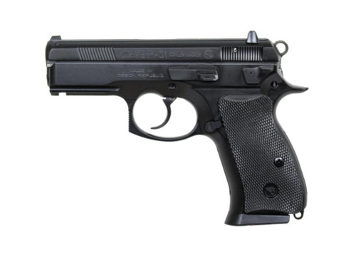 "CZ P-01 9mm, Black Alloy,, , 3.8"",  10 rd"