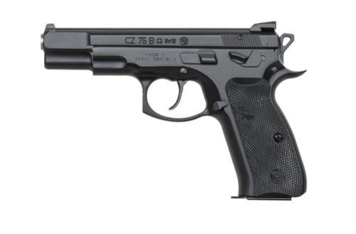 CZ 75 B Omega Convertible, 9mm, Black,, , Swappable Safety/Decocker,  16 rd