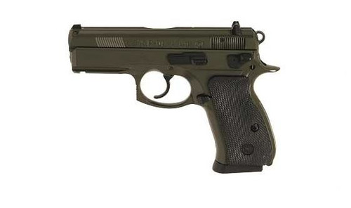 "CZ P-01 9mm 3.8"" Barrel Olive Drab Green Accesorry Rail 14 Rd Mag"