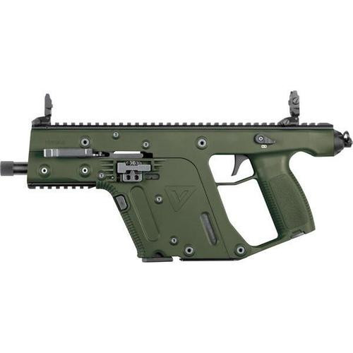 "Kriss Vector II SDP 9mm 5.5"" Threaded Barrel Olive Drab Green 17rd Mag"