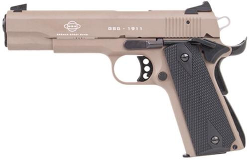 "GSG M1911 HGA .22Lr 5"" BL Wdgp 10Rd TAN"