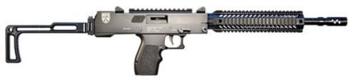 "Masterpiece Arms Defender Carbine, 5.7x28mm, 16"" Barrel, 20rd Mag, Folding Stock, Black"