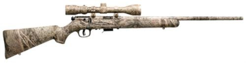 "Savage Model 93 Camo Package .22 Magnum 22"" Barrel Camouflage Finish Synthetic Stock Camouflage Finish Accutrigger 5 Round Includes Factory Installed 3-9X40mm Simmons Scope"