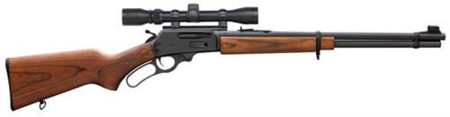 "Marlin Model 336W 30-30 Lever Rifle, 3-9 Scope 20"" Barrel Walnut Stock"