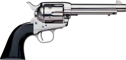 "Uberti 1873 Cattleman Desperado .45 Colt, 5.5"", Nickel/Bison Horn"