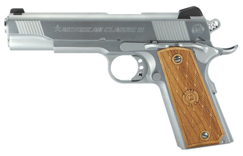 American Classic II Government Model 1911, 45 ACP, Hard Chrome Finish 8rd Mag
