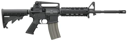 Bushmaster XM15 Patrolmans Carbine Quad Rail 223/5.56 16 Barrel 6-Position Telestock Removable Handle 30 Round Mag