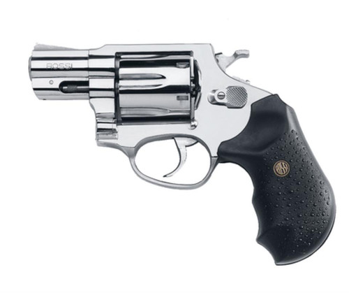 """Rossi Revolver 38 Special 2"""" 5rd Black Rubber Grip Stainless Steel"""