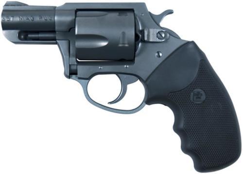 """Charter Arms Mag Pug, .357 Mag, 2.2"""" Barrel, 5rd, Black Rubber Grip, Blued"""