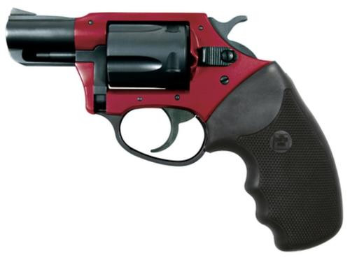 "Charter Arms Undercover Lite, .38 Special +P, 2"" Barrel, 5rd, Black/Red"