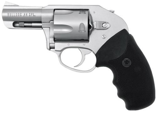 "Charter Arms Bulldog On Duty, .44 Special, 2.5"", 5rd,  Black Rubber Grip, Stainless"