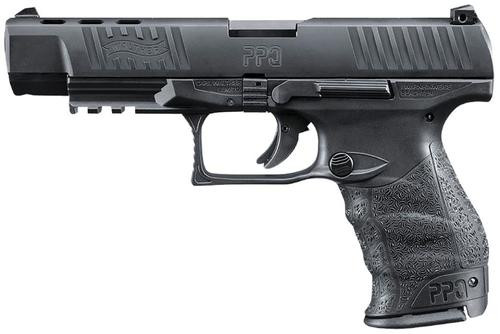 "Walther PPQ M2 9mm Black 5"" 15 Round, 2 Mags"