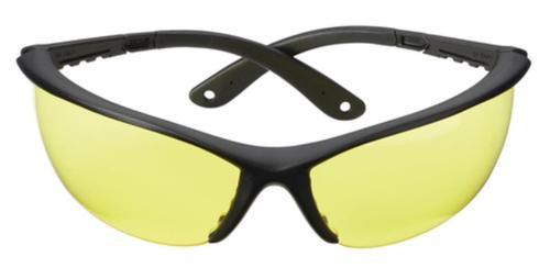 Champion Ballistic Shooting Glasses Open Frame Black Frame Yellow Lens