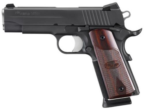 SIG 1911 45 ACP 3.3 7+1 Rosewood Grip Black