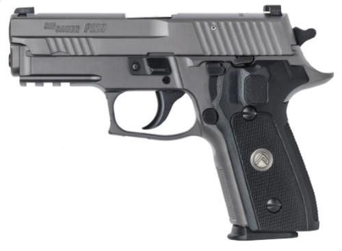 """Sig P229 Compact Legion 9mm, 3.9"""" Barrel, G10 Grips, Legion Gray, 3x 15rd"""