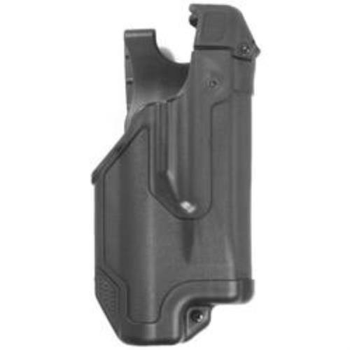 Blackhawk Epoch Level 3 Light Bearing Duty Holster Matte Black Right Hand Glock 20/21/37