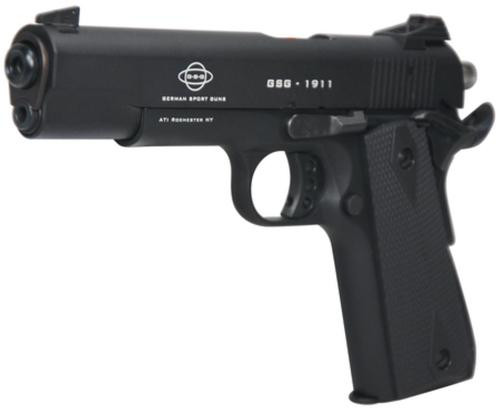 GSG 1911 22LR, Government Model, Ambi Safety, Black Grips