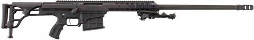 "Barrett Model 98B .338 Lapua Magnum, 27"" Fluted Barrel W/Bipod & Monopod"