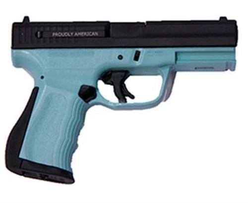"FMK 9C1 G2 9mm 4"" Barrel Tiffany Blue Frame 14rd Mag"