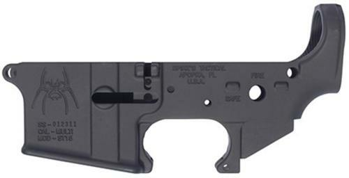 Spikes Lower Receiver Stripped - ST-15, Fire/Safe markings