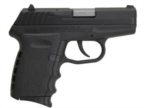 "SCCY CPX-2 9mm 3.1"" Barrel, Black Polymer Grip/Frame Grip, 10rd"
