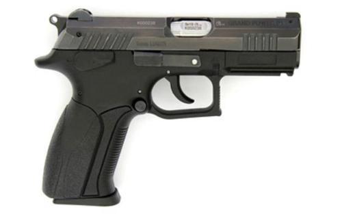 """Grand Power P1 Pistol, 9mm, 3.7"""", 15rd, Polymer frame, Blued Steel Slide"""