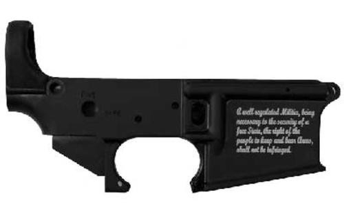 Stag Arms 2nd Amendment Engraving, Stripped Lower Receiver 5.56