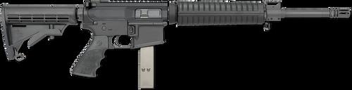 "Rock River Arms LAR-9 Mid Length A4 9mm Carbine AR-15 9mm 16"" Barrel, 6 Posption CAR Stock Black, 30rd"