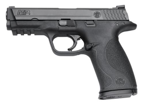 "Smith & Wesson M&P Full Size 9mm, 4.25"" Barrel, Black, White Dot Sights, Magazine Safety, 17rd - Md Compliant"