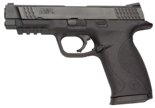 """Smith & Wesson M&P Full Size 45 ACP 4.5"""", Dot Sights, Magazine & Manual Safety 10 Round Mag"""