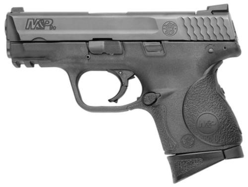 """Smith & Wesson M&P Compact, Crimson Trace Laser Grips 9MM 3.5"""" Barrel Melonite Finish 12 Rnd Mags"""