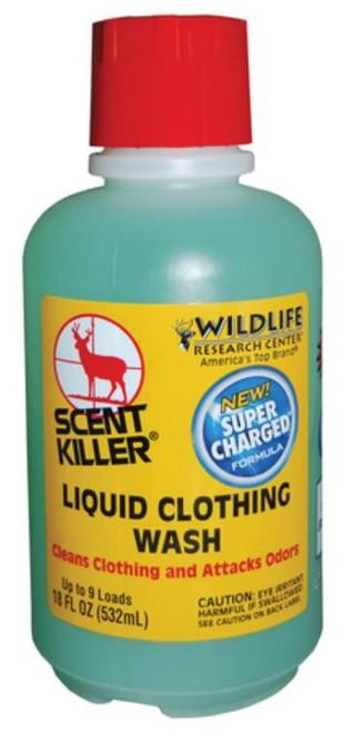 Wildlife Research Scent Liquid Clothing Wash, Wash Away Human Odor, 16oz